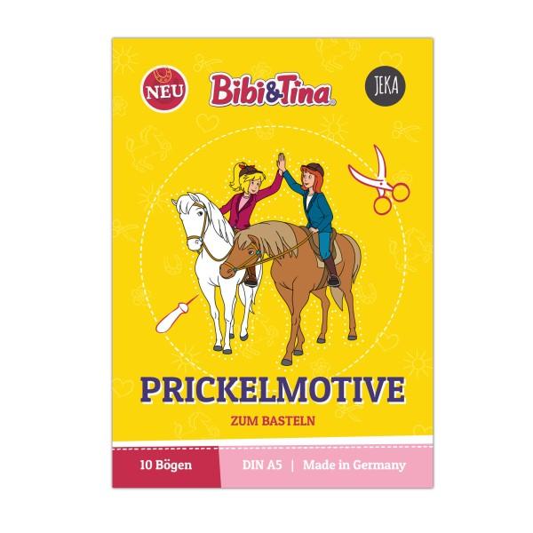 Bibi & Tina Prickelmotive zum Basteln - Block