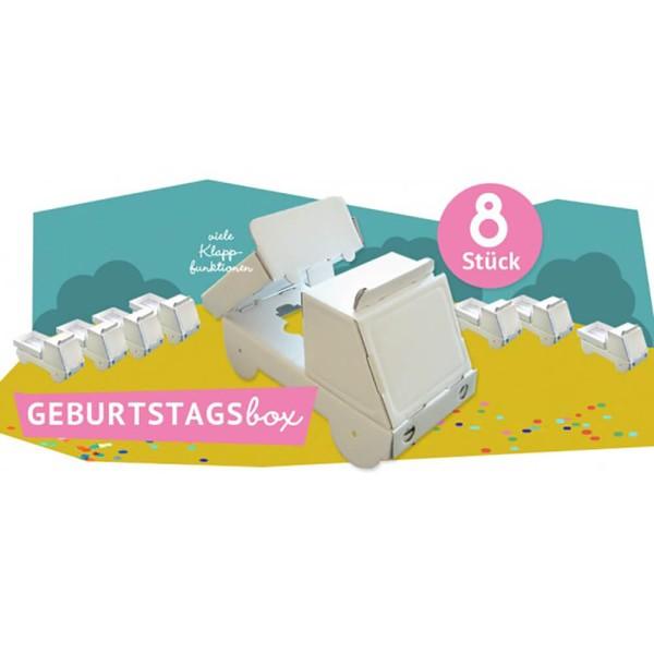 Bibabox - Geburtstagsbox Kipper 8 Stück