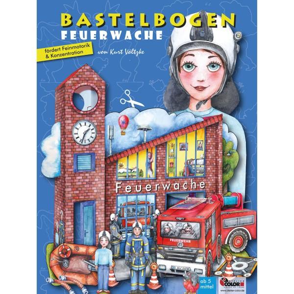 Bastelbogen Feuerwache