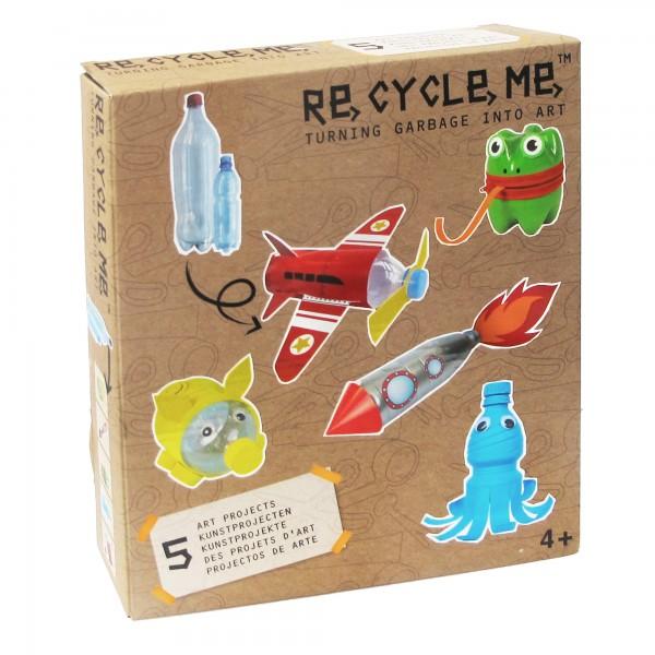 Upcycling Bastelset: PET-Flaschen