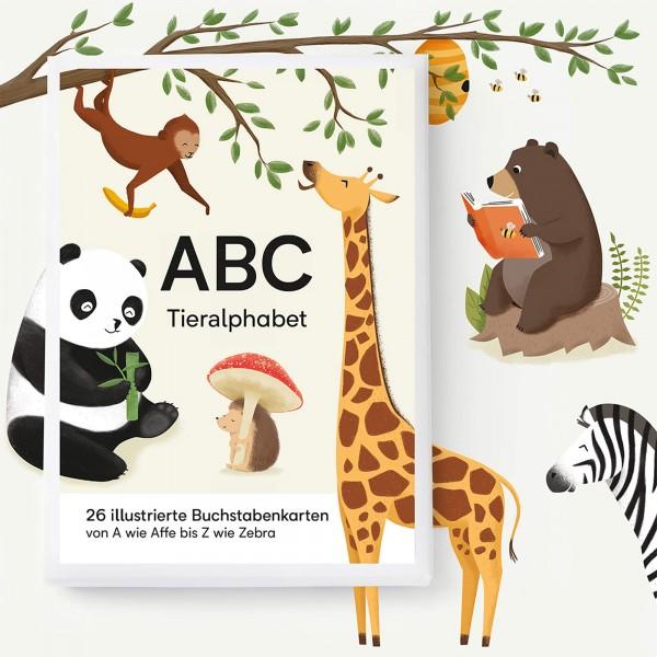 ABC Kartenset Tieralphabet