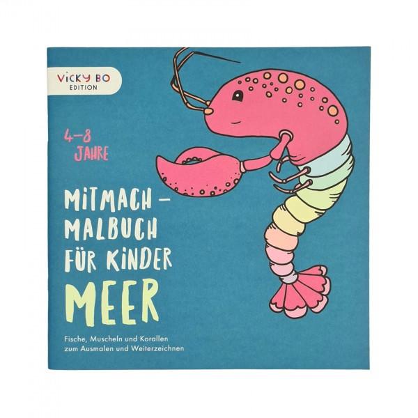 Mitmach-Malbuch Meer 4-8 Jahre