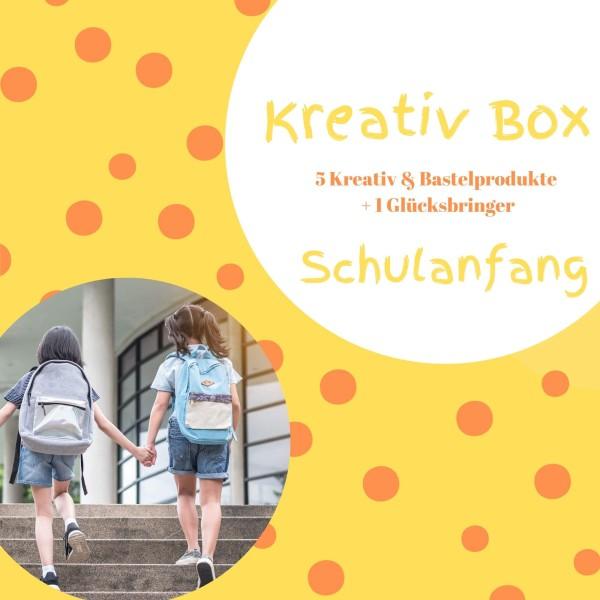 Kreativbox für Kinder Schulanfang