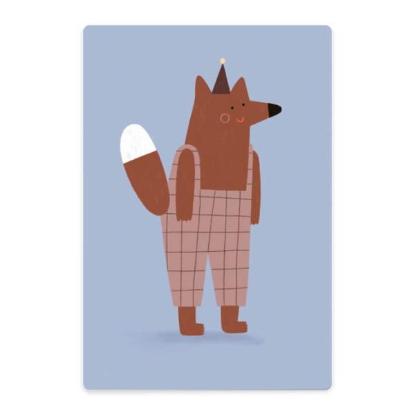Nuukk Schneidebrett Fox with trousers