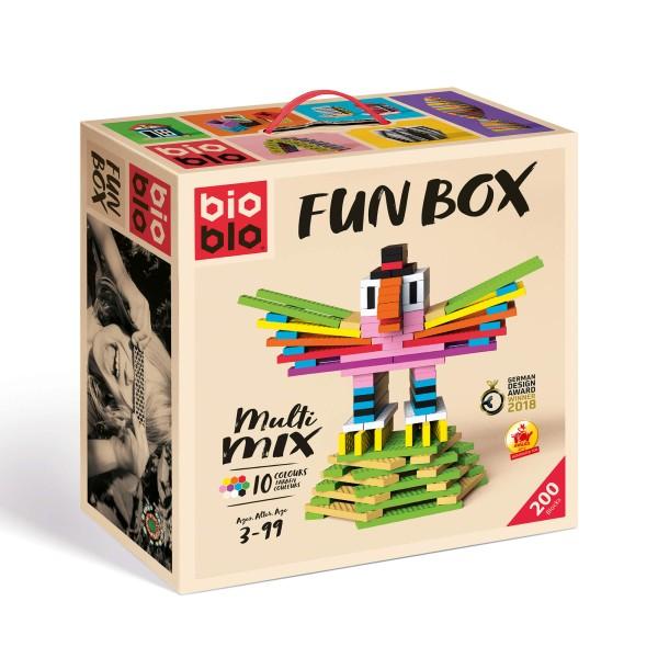 "Bio Blo Fun Box ""Multi-Mix"" - 200 Bausteine"