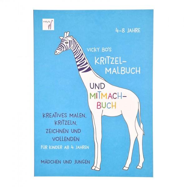 Kritzel-Malbuch & Mitmachbuch 4-8 Jahre