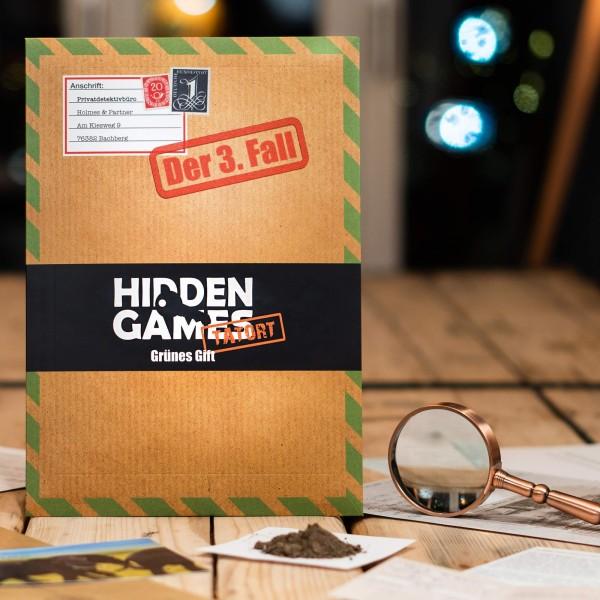 Escape Room Spiel - Fall 3: Grünes Gift