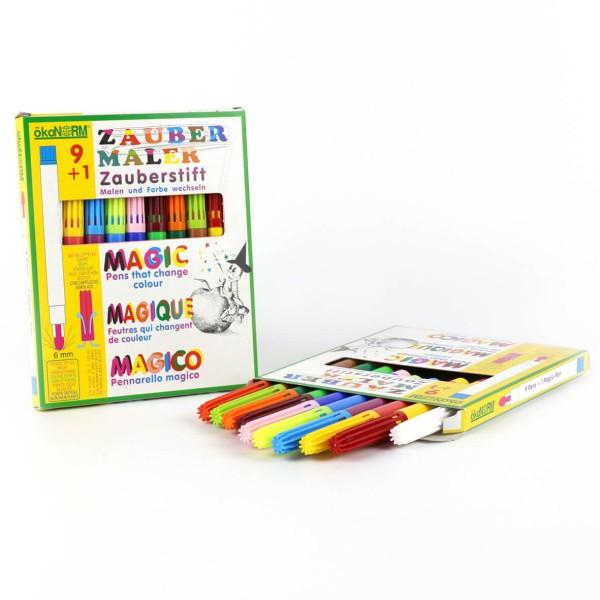 ökoNORM Zaubermaler 9+1, inkl. Farbwechselstift - 9 Farben