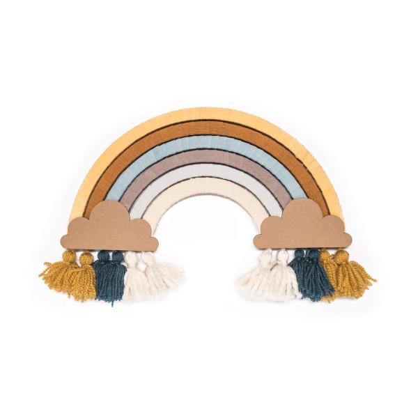 DIY Regenbogen basteln - Honey Blue