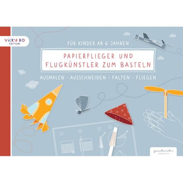 Papierflieger und Flugkünstler zum Basteln