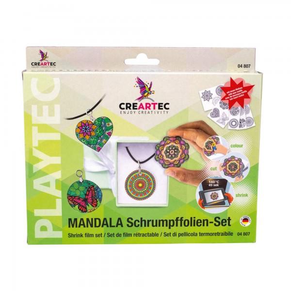 """Schrumpffolien-Set """"Mandala"""" Creartec"""