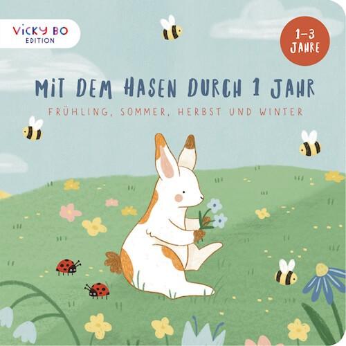 Kinderbuch - Mit dem Hasen durch 1 Jahr