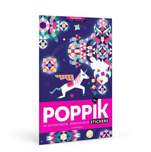Poppik Stickerposter - Motiv Sternbild (6-12 Jahre)