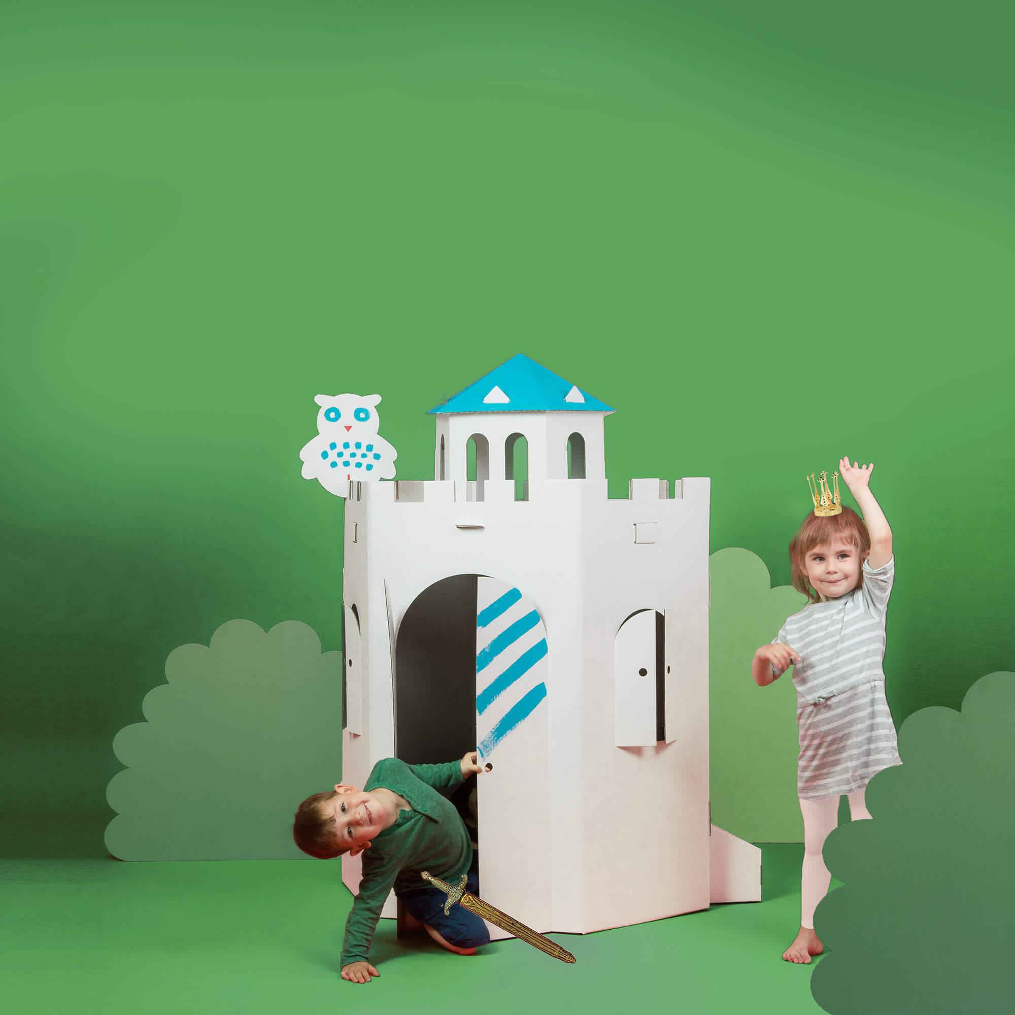 Bibabox-Papphaus-Kinder-Papphaus-zum-Bemalen-Grosse-Burg-1