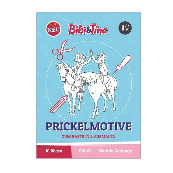 Bibi & Tina Prickelmotive zum Ausmalen - Block