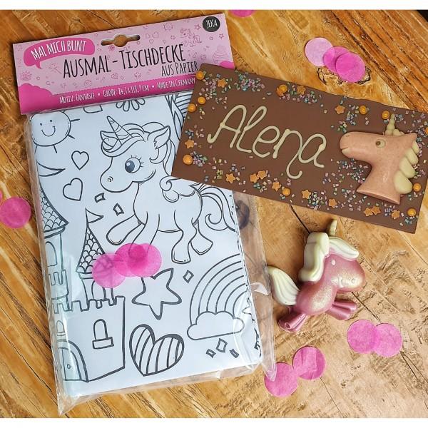 Einhorn Schokoladen-Paket