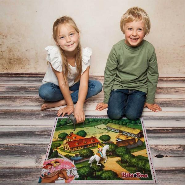 Spielmatte Motiv: Bibi & Tina Martinshof