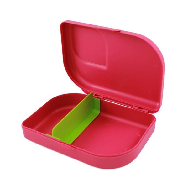 Nachhaltige Brotdose Kinder Pink