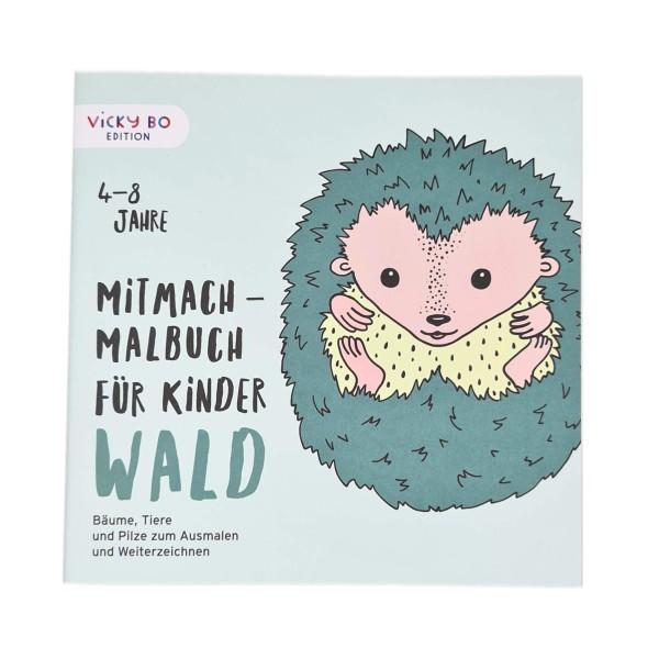 Mitmach-Malbuch Wald 4-8 Jahre
