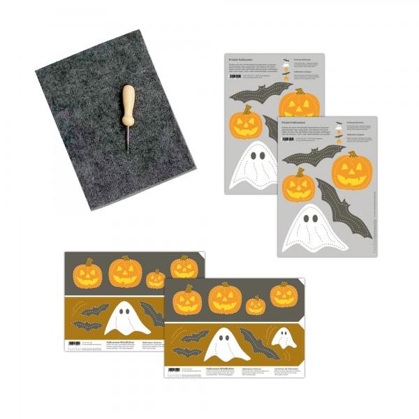 Prickeln für Kinder - Prickelset Halloween