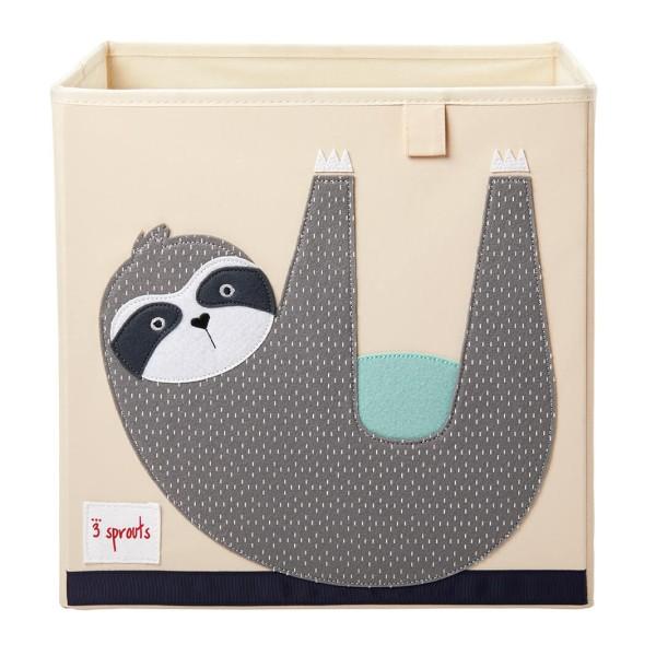 Aufbewahrungsbox fürs Kinderzimmer - Motiv: Faultier