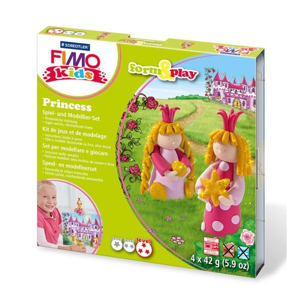Fimo kids form & play Set Prinzessin