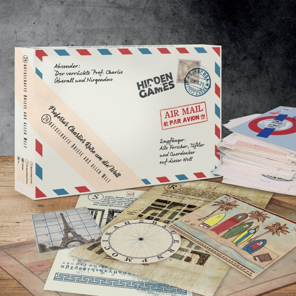 Adventskalender - Professor Charlies Reise um die Welt