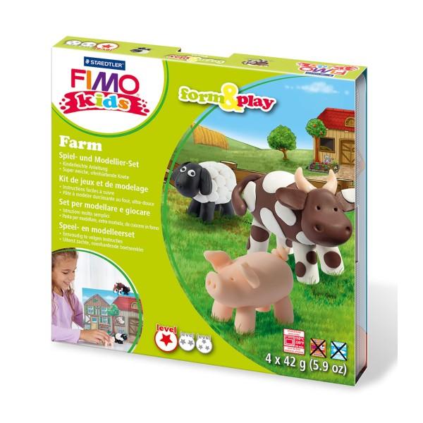 Fimo kids form & play Set Bauernhof