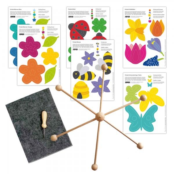 Prickeln für Kinder - Mobile Blumenwiese