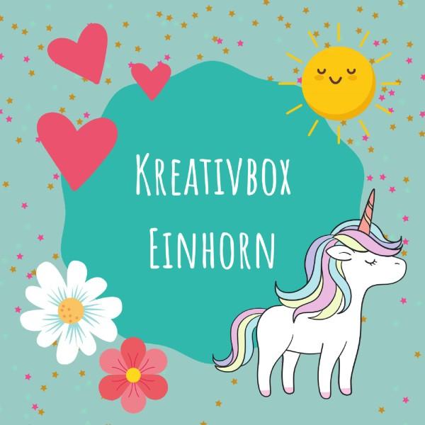 Kreativbox Einhorn