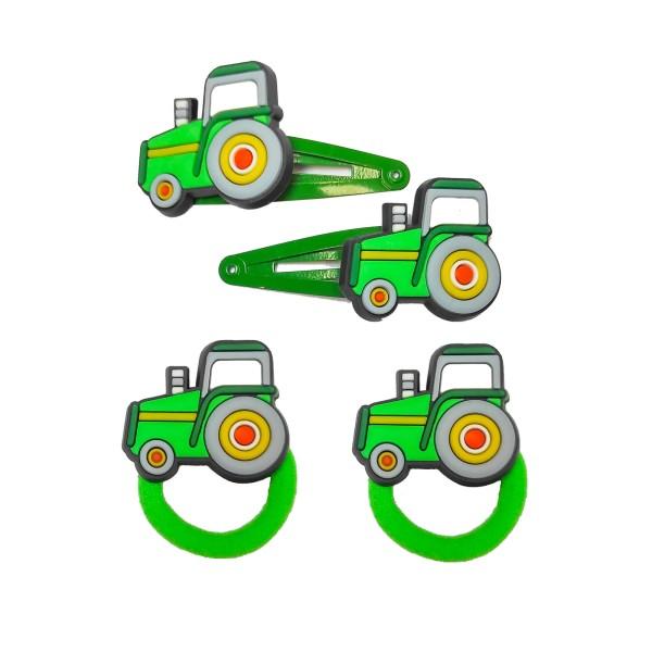 Set Haarspange Traktor