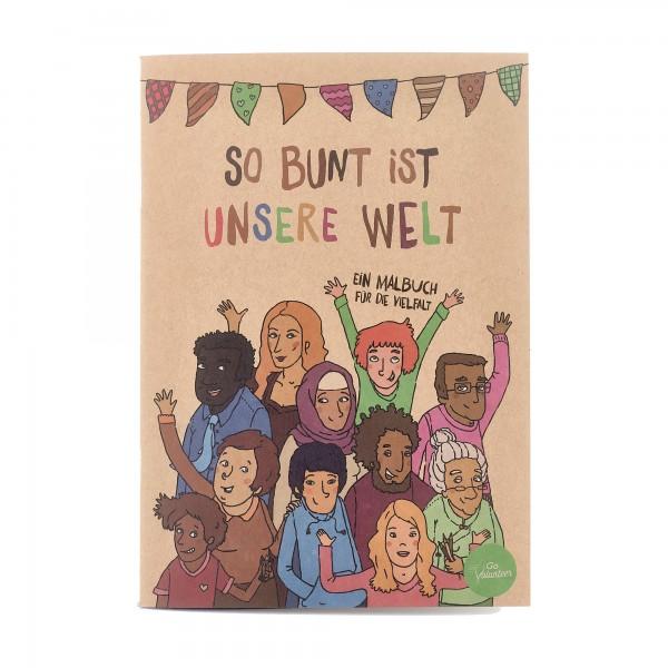 Hautfarben Malbuch für die Vielfalt